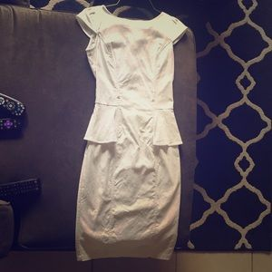 White business dress. Size 1/2